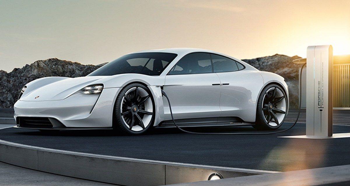 Avec Mission E, Porsche annonce une autonomie de 400km pour 15 minutes de charge