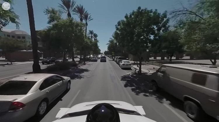 [Vidéo]: Waymo publie une vidéo 360° embarquée sur un véhicule autonome
