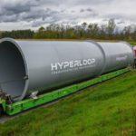 [Vidéo]: Les éléments d'Hyperloop TT arrivent à Toulouse pour son installation