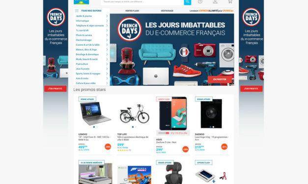 Les French Days proposés par les e-commerçants Français du 27 avril au 1er mai 2018