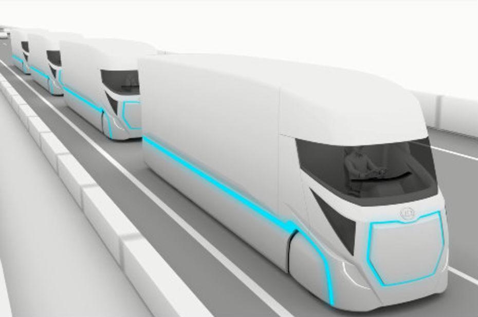 Pour 2030, La société UD Trucks veut commercialiser un camion autonome et électrique
