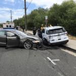 Aux États-Unis, Une Tesla Model S en Autopilot percute une voiture de police à l'arrêt