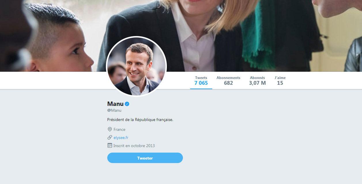 """Un développeur crée une extension remplaçant """"Emmanuel Macron"""" par Manu"""