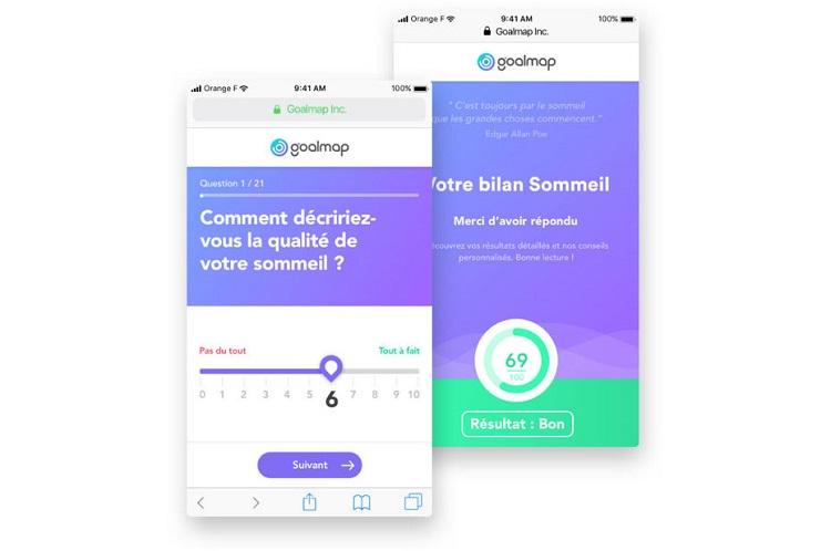 Goalmap, la start-up qui veut mesurer le bien-être des salariés en entreprise