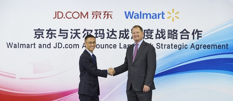 Pour percer sur  le marché Chinois, Walmart s'associe avec JD.com