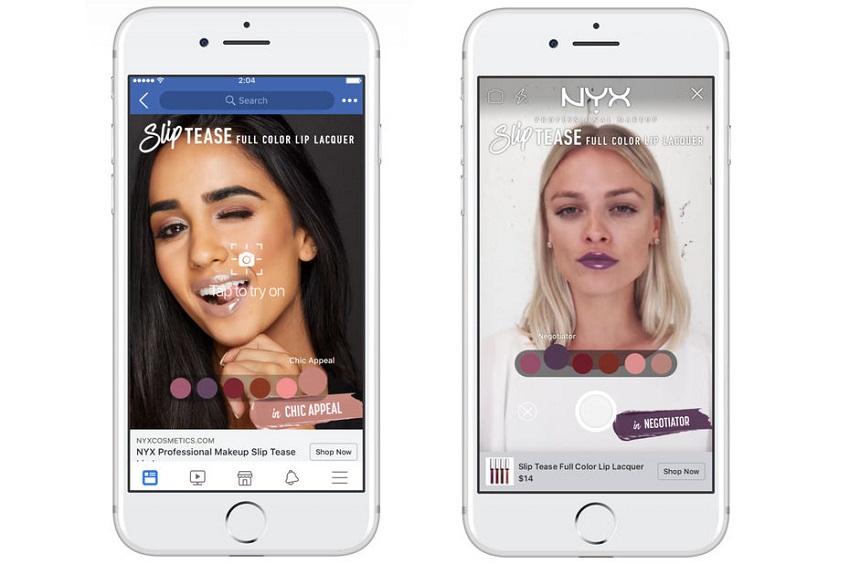Pour créer des expériences de maquillage en réalité augmentée, L'Oréal choisit de s'allier à Facebook