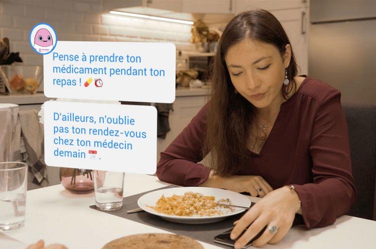 [Vidéo]: La start-up Montpelliéraine Wefight présente son chatbot pour les maladies chroniques et le cancer du sein