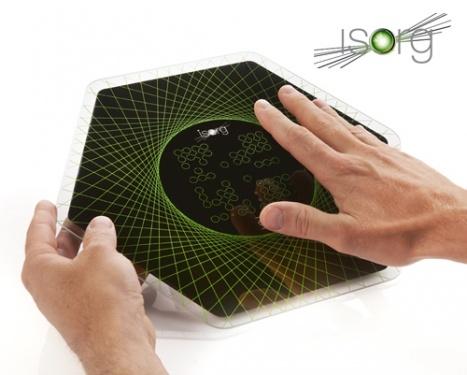 La start-up Grenobloise Isorg lève 24 millions d'euros pour l'industrialisation de ses capteurs en électronique imprimée