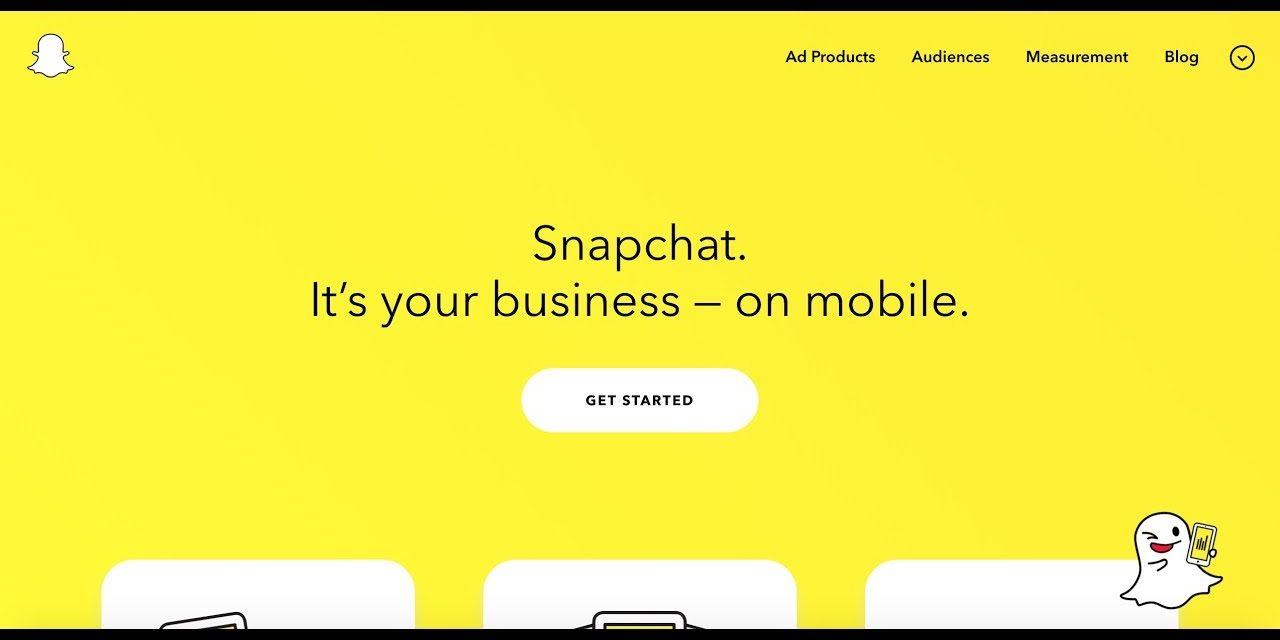 Snapchat propose de nouvelles fonctionnalités aux e-commercants