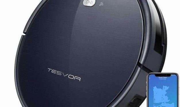 Tesvor, votre nouveau compagnon robot-aspirateur compatible Alexa