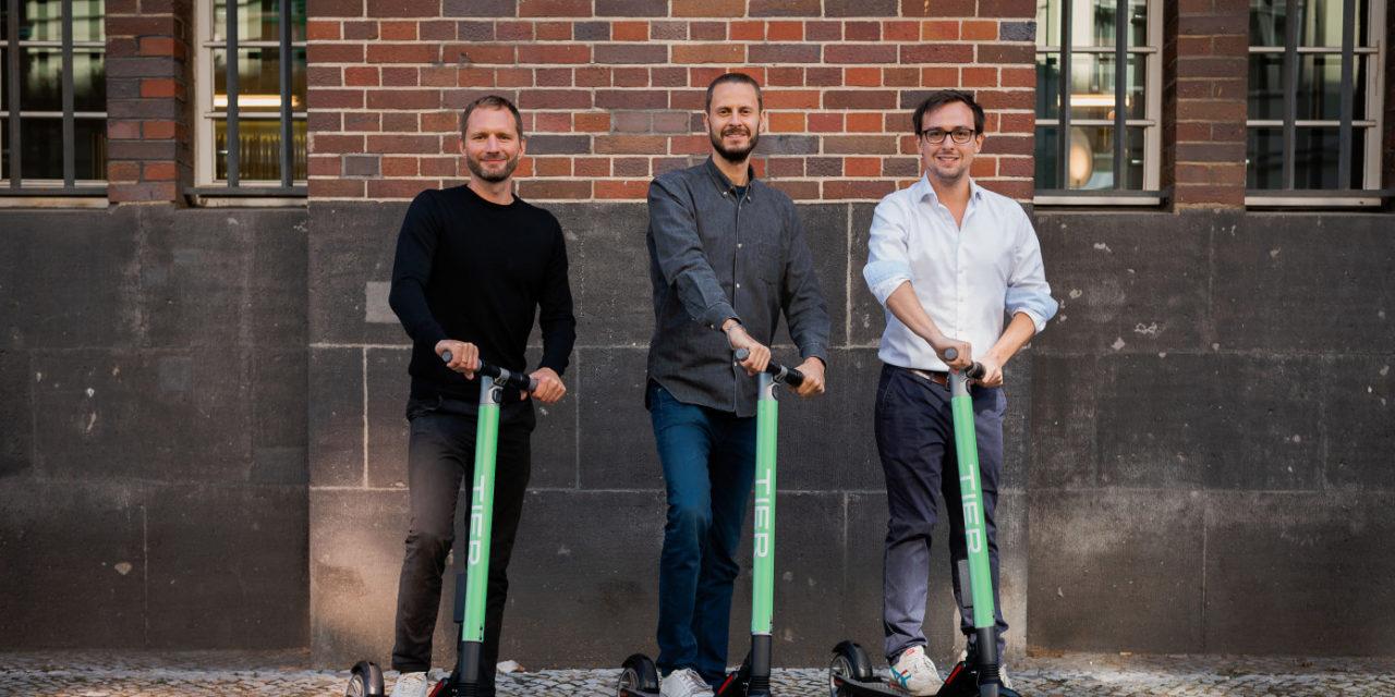 La start-up Berlinoise Tier lève 25M€ pour son activité de location de scooters électriques