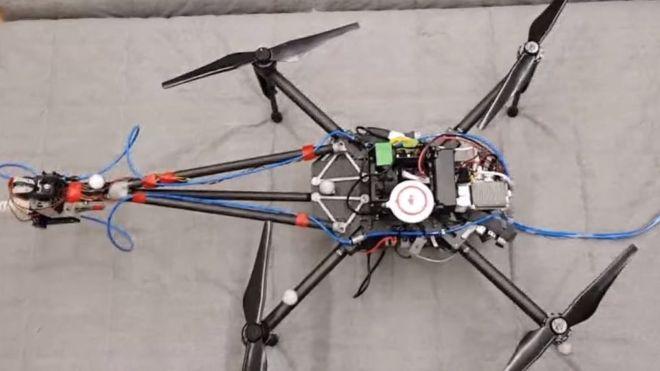 [Vidéo]: Disney a crée un drone autonome capable de peindre pour certaines raisons