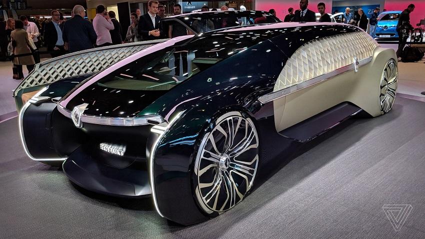 EZ Ultimo de Renault, un concept car autonome aux airs de paquebot de luxe ?
