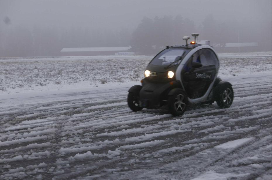 [Vidéo]: Twizy Sensible4, le véhicule autonome capable de rouler sous la neige