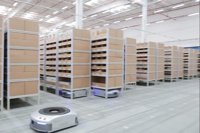 La start-up Chinoise Geek+ lève 150M$ pour améliorer ses robots en entrepôt