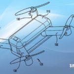 Samsung dépose un brevet sur le segment des drones transformables