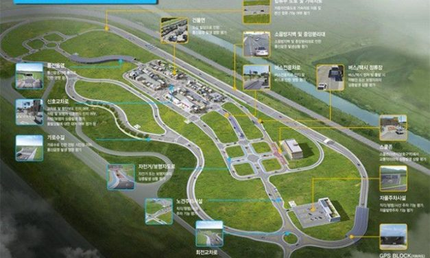 K-City, La ville Coréenne entièrement dédiée aux tests de véhicules autonomes