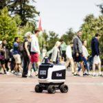 [Vidéo]: Un robot de livraison autonome Kiwibot prend feu en pleine rue