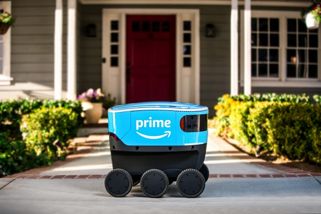 Amazon delivery robot