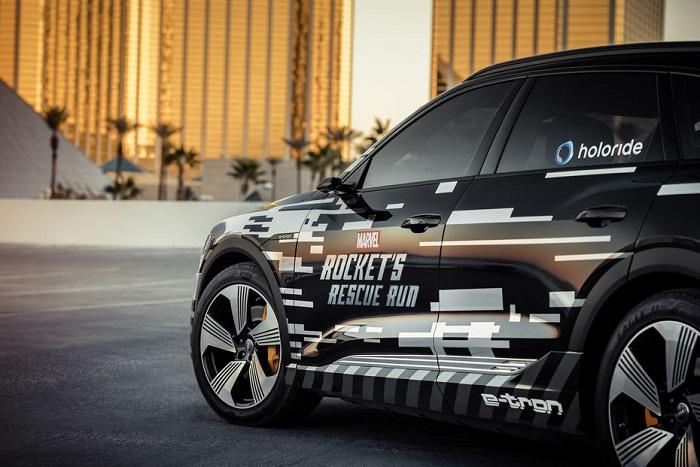 Audi e-tron Holoride