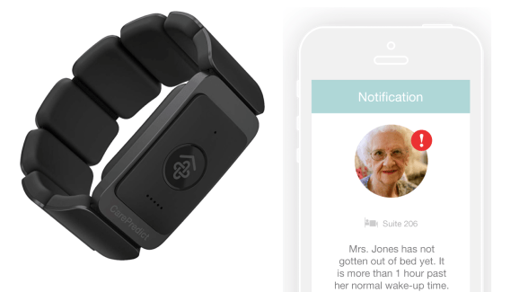 La start-up Carepredict lève 9,5M$ sur le segment des wearables pour séniors