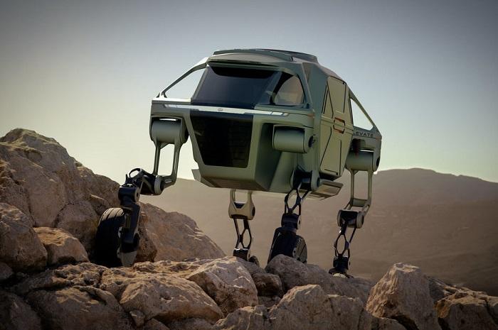 [Vidéo]: Hyundai présente son concept car tout terrain Elevate