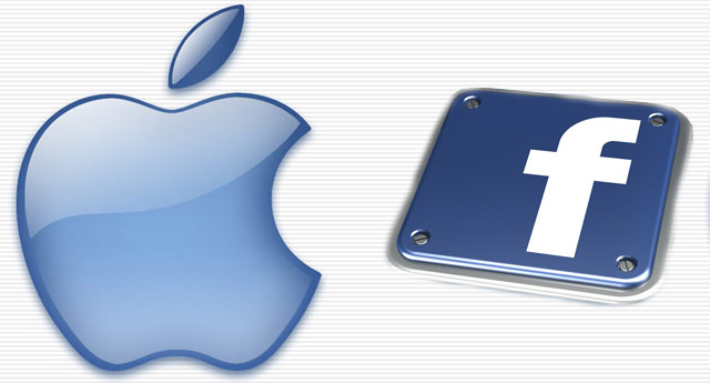 Logo Apple Facebook