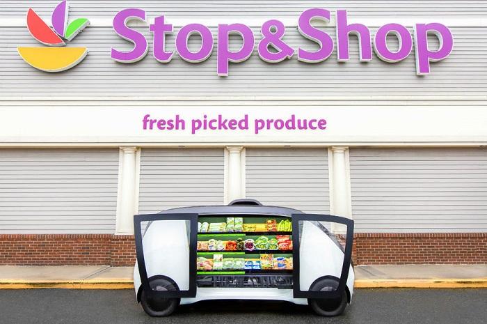 [Vidéo]: La chaine Stop and Shop va tester la livraison de produits frais par véhicules autonomes