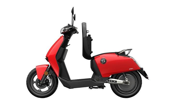 Le scooter électrique Super Soco Cu-X est disponible en pré-commande