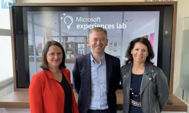 Nantes: Microsoft inaugure son Microsoft Experiences Lab, dédié à l'intelligence artificielle