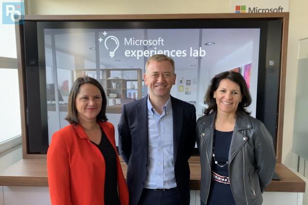 Microsoft experiences lab