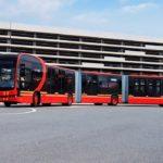 La société Chinoise BYD présente le bus électrique le plus long du monde