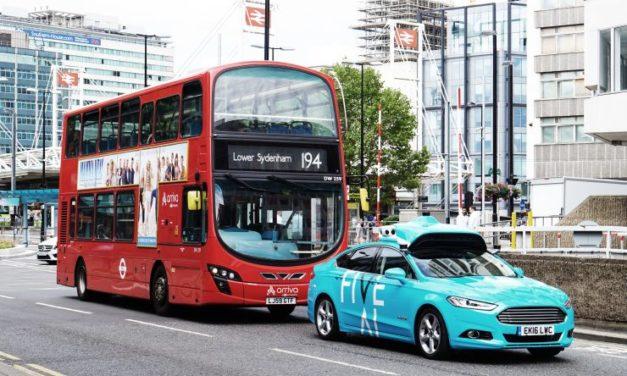 A Londres, des tests de véhicules autonomes ont commencés