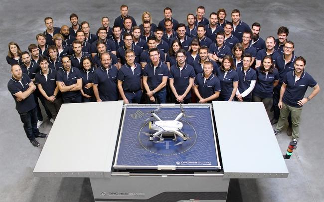 La start-up Bordelaise Azur Drones lève 9 M€ pour son drone autonome