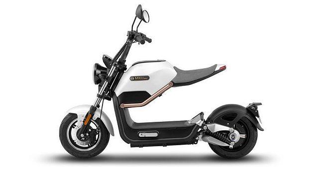 Sunra Miku Max: un nouveau scooter électrique sans permis au look futuriste!