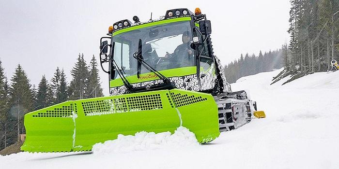 [Vidéo]: Pistenbully présente le premier chasse-neige électrique au monde