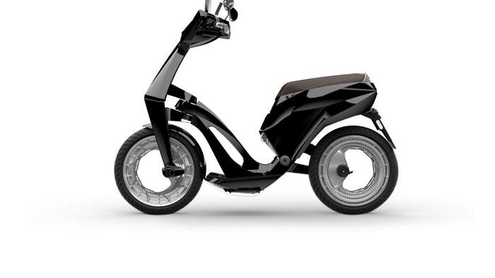 Ujet: le premier scooter électrique pliable au monde