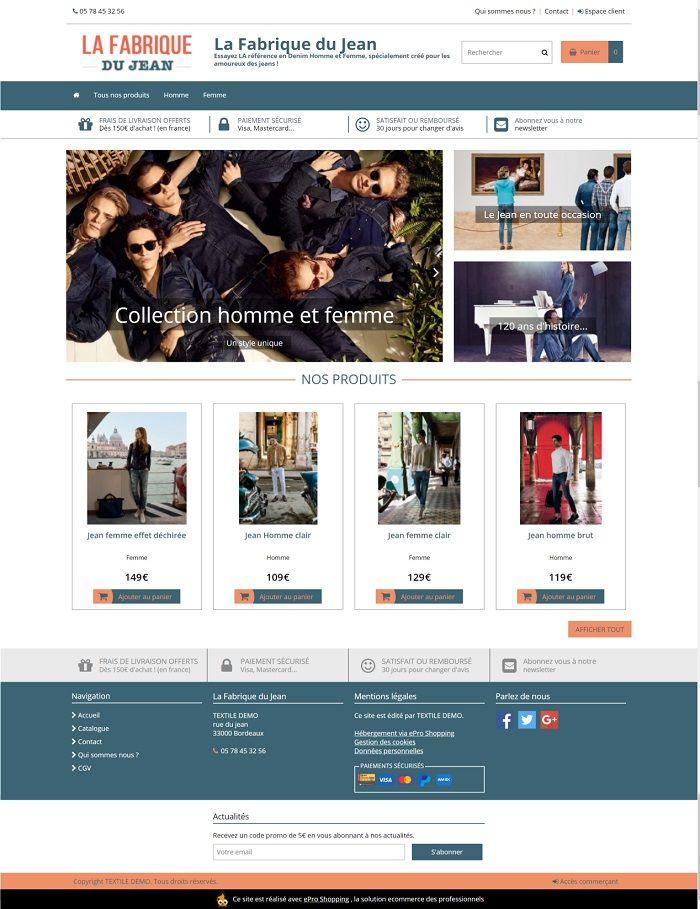 Epro Shopping site final