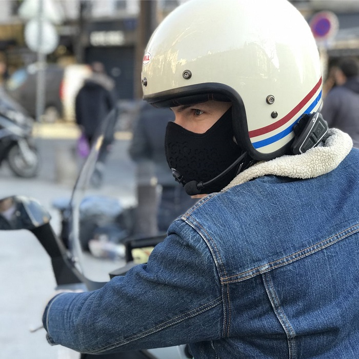 masque anti-pollution pour moto R Pur