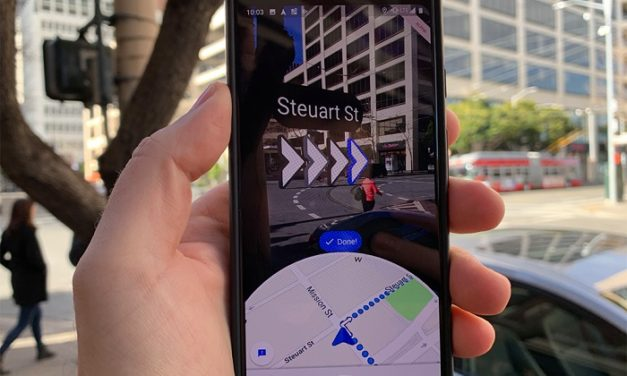Google lance «Live View» un système de navigation piétonne en temps réel