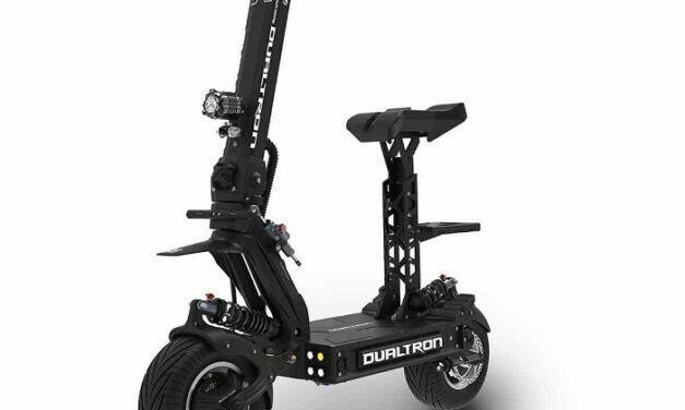 Lancement de la nouvelle trottinette électrique Dualtron X: 100km/h et 150km d'autonomie!
