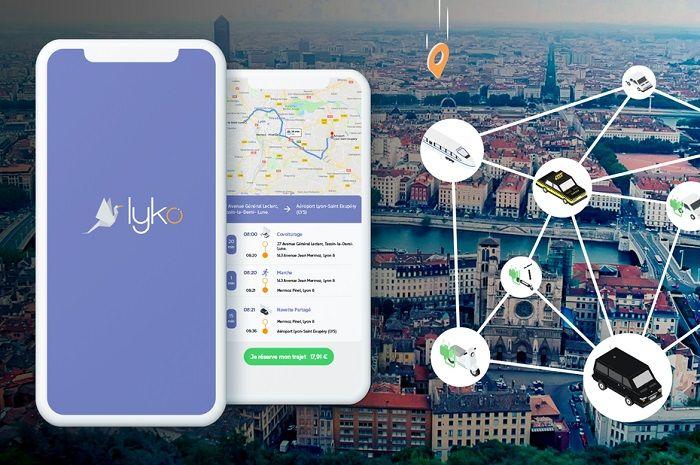 Lyko, la start-up Lyonnaise qui propose une solution multimodale depuis et vers les aéroports