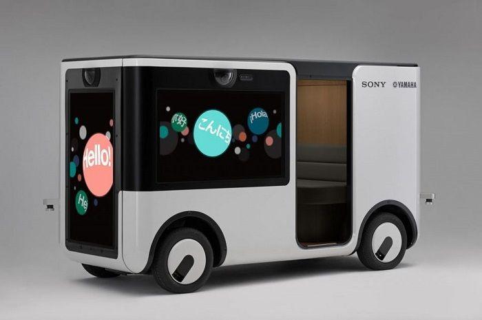 Yamaha Motors et Sony conçoivent une navette autonome destinée aux parcs d'attractions