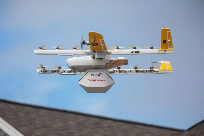 [Vidéo]:Avec Wing,Google devient la première entreprise à effectuer des livraisons par drone aux États-Unis