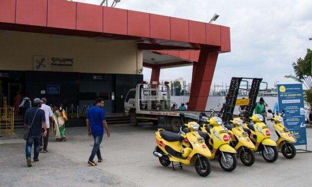 La start-up indienne de location de scooters Bounce lève 150 millions de dollars