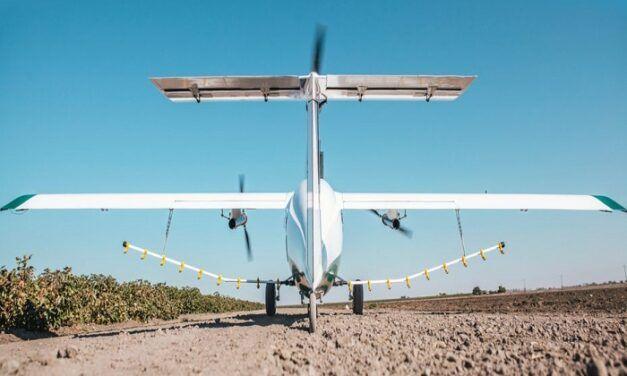 La start-up Américaine Pyka lève 11 M$ pour accélérer le développement de son drone épandeur à voilure fixe
