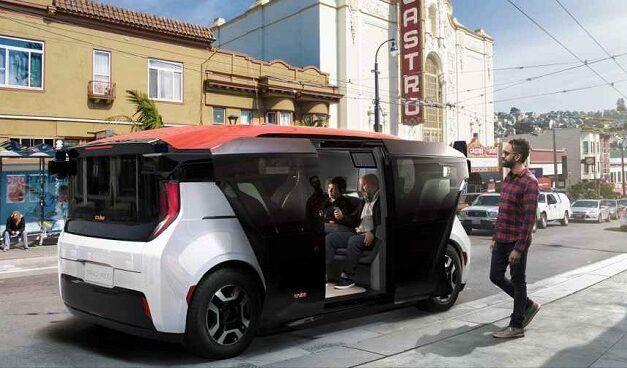 GM's Cruise dévoile sa mini-fourgonnette sans conducteur , un véhicule autonome sans volant ni pédales