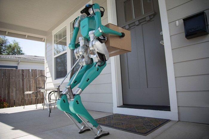 Ford commercialise officiellement son robot de livraison Digit