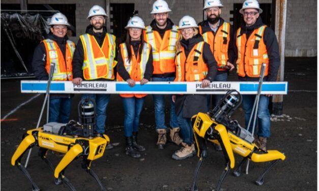 L'entreprise de BTP Québécoise Pomerleau utilise pour la première fois le robot-chien Spot de Boston Dynamics