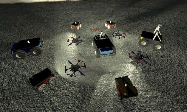[Vidéo]:Aux États-Unis, des robots peuvent s'affronter dans une chasse au trésor organisée par la Darpa
